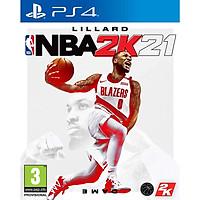 Đĩa Game PS4 : NBA 2K21 - Hàng Nhập Khẩu
