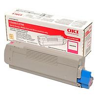 Mực In Laser Màu OKI C5600 C/M/Y/K Cho Máy In OKI C5600N, C5700N (Gồm Chip) - Hàng Chính Hãng