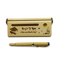 Bút gỗ cao cấp làm quà tặng ngày Tốt nghiệp (Kèm hộp đựng sang trọng)