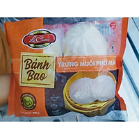 [Chỉ giao HCM] Bánh Bao Trứng Muối Phô Mai Lacusina 400g ( 4 cái )