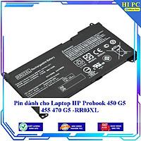 Pin dành cho Laptop HP Probook 450 G5 455 470 G5 - RR03XL - Hàng Nhập Khẩu