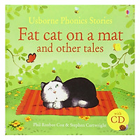 Sách tiếng Anh - Usborne Phonics stories: Fat Cat on a Mat and other tales with CD
