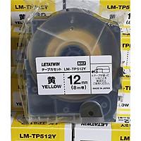 Nhãn vàng LM-TP512Y dùng cho máy in đầu cốt LM-550