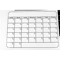 Bộ bảng trắng từ tính dán tủ lạnh kích thước A3 thiết kế lịch trình, thực đơn, danh sách thực phẩm mua sắm, ghi chú, ghi nhớ và nhắc nhở phương tiện giao tiếp giữa các thành viên, dùng trong nhà bếp, văn phòng, dụng cụ tuyệt vời cho trò chơi, vẽ, ý tưởng các bé