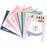 Lốc 10 Quyển Tập Bear Cute- 4 Ôly- 5 Ôly (96 Trang)  -mẫu ngẫu nhiên