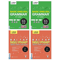 Combo 2 Cuốn Ngữ Pháp Và Bài Tập Ngữ Pháp Tiếng Anh Căn Bản