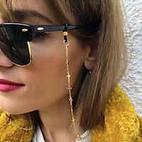 Women Eyeglasses Chain Simple Cross Non-slip Decoration Eyeglasses Cord