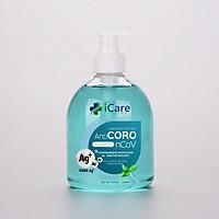 Gel rửa tay khô iCare Pharma - Anti Coro nCoV - Bạc Hà - Chai 500ml
