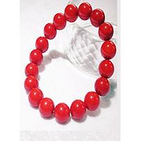 Vòng tay đá san hô đỏ loại 1 + Tặng hộp quà cao cấp