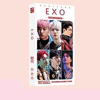 Hộp ảnh Postcard Exo Obsession in hình nhóm nhạc idol tặng thẻ Vcone
