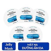 Combo 5 Mặt nạ cấp nước dưỡng ẩm da mềm mượt, căng bóng BNBG Vita Genic Hydrating Jelly Mask (Vitamin E) 30ml x 5