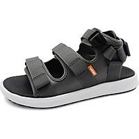 Giày sandal nữ Vento NB03W - Xám đế trắng - 43