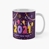 Cốc sứ Happy New Year 2021