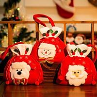 COMBO 2 túi đựng quà nhỏ (Noel - Giáng sinh)