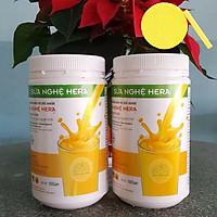 Combo 2 Hộp Sữa Nghệ Hera 500g - Tặng Kèm Bông Rửa Mặt