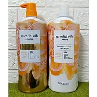 Bộ Dầu Gội Xả Pantene Cam Essential Oils by Pantene Orange Peel Oil & Shea Butter Hương cam 1.13L