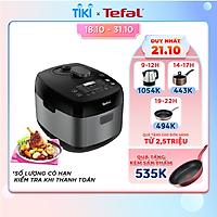 Nồi áp suất Tefal Smart Pro Multicooker CY625868 - 1000W, 5L - 22 chương trình nấu - An toàn tối đa - Hàng Chính Hãng