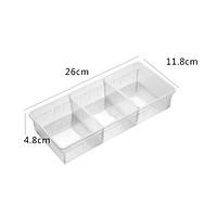 Khay nhựa chia ngăn kéo tủ bếp cao cấp hình chữ nhật ( nhiều size)