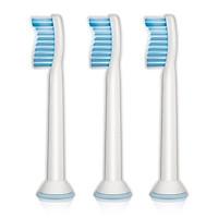 Philips Sonicare Đầu bàn chải đánh răng thay thế nhạy cảm cho răng nhạy cảm, HX6053 x 3