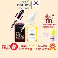 Combo Dưỡng Da Red Peel Premium Và Silk Collagen Ampoule Chính Hãng So Natural