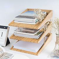 Kệ 3 tầng đựng giấy A4 - Phụ kiện văn phòng - VDU010