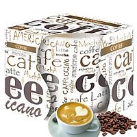 Ly nến thơm tinh dầu Bispol Coffee 100g QT024793 - cà phê capuchino