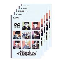 Vở kẻ ngang Haplus K.pop 80 trang (10 quyển/lốc)