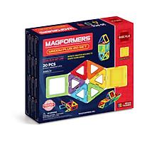 Đồ chơi xếp hình nam châm 3D Magformers Window Plus 20 mảnh