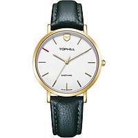 Đồng hồ nữ dây da chính hãng Thụy Sĩ TOPHILL TS007L.PG2252