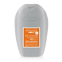 Sữa tắm 2 in 1 cho nam BYPHASSE MEN SHOWER GEL- SHAMPOO FUNKY SAVANNAH 500ML màu xám cam