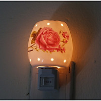 Đèn Ngủ Xông Tinh Dầu Mini Cắm Tường (Mẫu ngẫu nhiên)