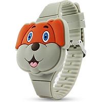 Đồng hồ thời trang trẻ em dây cao su cao cấp mặt cún sắc màu OEM PKHRTE010