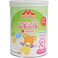 Combo 2 lon Sữa Morinaga số 3 Hương dâu (Kodomil) 850g