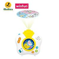 Đèn chiếu sao ru ngủ giai điệu nhạc trắng - tiếng ồn trắng giúp bé ngủ ngon chuẩn Easy - Winfun 0806 - tặng đồ chơi dễ thương