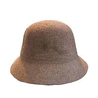 Mũ cói vành nhỏ trơn - nón cói vành nhỏ chống nắng, đi biển phong cách Hàn