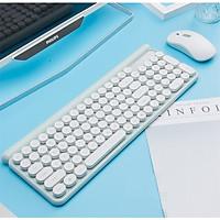 Bộ bàn phím và chuột không dây LT400 phiên bản sạc (tặng kèm lót chuột) - Hàng Nhập Khẩu