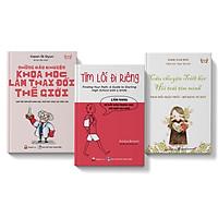 Sách Combo 3 cuốn: Những câu chuyện khoa học + Câu chuyện triết học + Tìm lối đi riêng - Cẩm nang Trung học