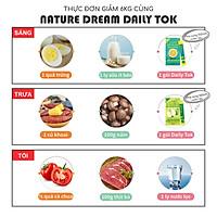 Bột hòa tan hỗ trợ giảm cân vị táo NATURE DAILY TOK
