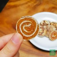 Bánh khóm/ dứa cuộn TƯ BÔNG cao cấp 350g - vị chua ngọt thơm ngon và tiện dụng chánh gốc Đồng Tháp