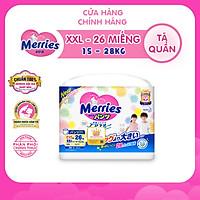 Tã Quần Merries - Size XXL - 26 Miếng (Cho Bé 15 - 28kg)