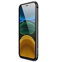 Ốp khung viền cạnh cho iPhone 12 Pro Max (6.7) hiệu Coteetci Aluminum Tpu Bumper chống sốc - Hàng nhập khẩu