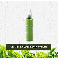 Gel Tẩy Tế Bào Da Chết Trà Xanh Nhật Bản Santa Marché Green Tea Clear Peeling, Làm Mờ Vết Sạm, Cung Cấp Vitamin C Làm Sáng Da,  Colagen Tăng Độ Đàn Hồi