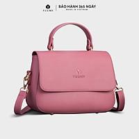 Túi đeo chéo nữ thời trang YUUMY YN86, 3 ngăn, vừa sổ tay, ví, điện thoại, túi có quai xách, phù hợp đi chơi, đi làm, đi tiệc, da tổng hợp cao cấp, không bong tróc, không thấm nước.