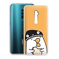 Ốp lưng dẻo cho điện thoại Oppo Reno 10X Zoom Edition (6.6inch) - 01230 7901 DUCK04 - Hàng Chính Hãng