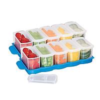 Combo 2 bộ 5 hộp đựng thực phẩm tủ lạnh Tashuan