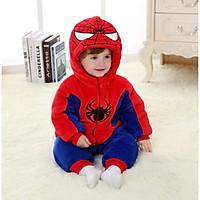 Bộ đồ nỉ hình spider man