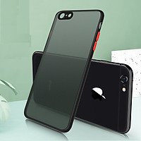 Ốp lưng trong nhám viền Shield Matte Color bảo vệ camera cho iPhone 6 Plus/ 6s Plus