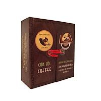 Cà phê Con Sóc Phin Lọc Đen Đôi