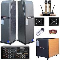 Trọn bộ dàn karaoke gia đình KM - 5100L BellPlus (hàng chính hãng)