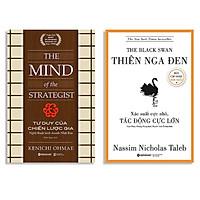 Combo Sách : The Black Swan - Thiên Nga Đen + Tư Duy Của Chiến Lược Gia – Nghệ Thuật Kinh Doanh Nhật Bản (Tái Bản 2020)